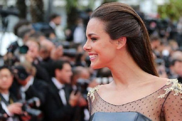 Miss France 2013, Marine Lorphelin, lors de la cérémonie d'ouverture du 67e festival de Cannes