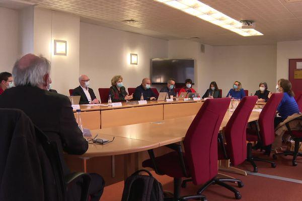 Le nouveau conseil d'administration de l'université de Limoges est au complet