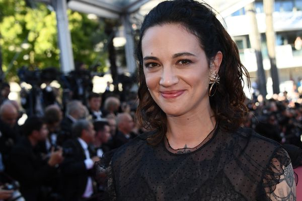 Asia Argento, en mai dernier sur le tapis rouge du palais des festivals de Cannes.