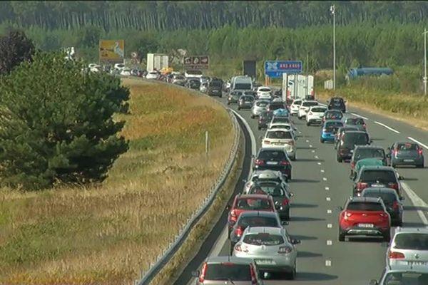 Le trafic sera dense autour de Bordeaux, vers Arcachon, et sur la côte basque principalement.