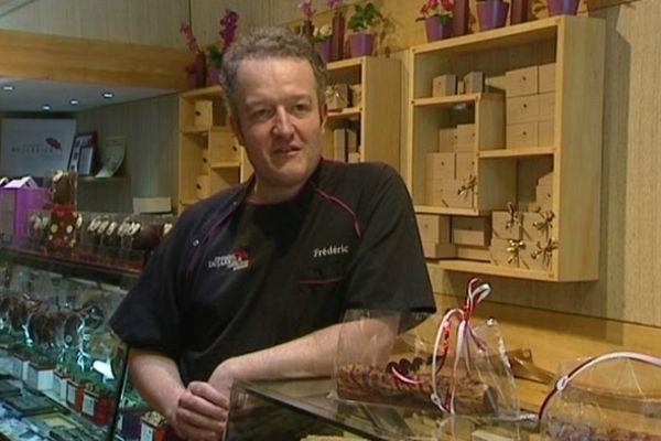 Frédéric Dujarrier, le pâtissier-chocolatier lyonnais 100% bio
