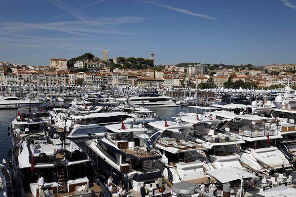Le Cannes Yachting Festival se déroule jusqu'au 12 septembre.