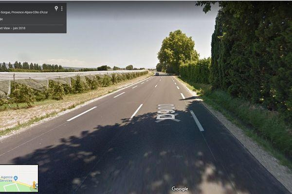 Les deux véhicules sont entrés en collision sur la D900 à Cavaillon.