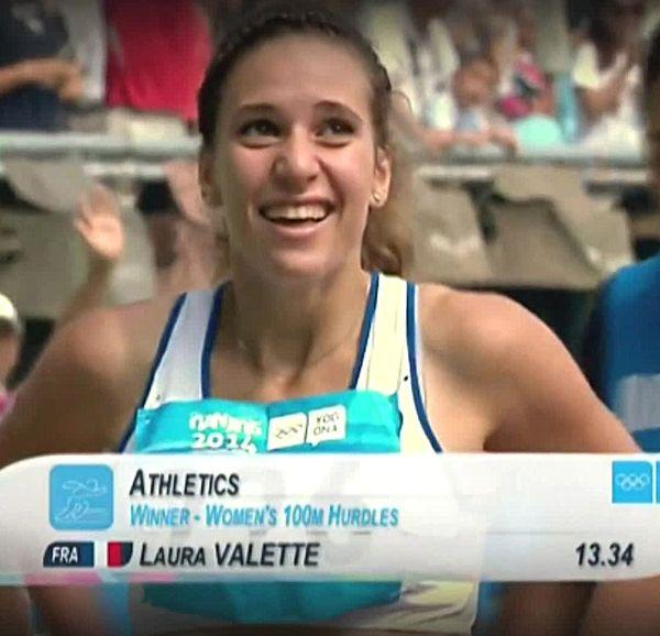 Laura Valette, championne de France en 2019 et 1ère participation aux Jeux Olympiques