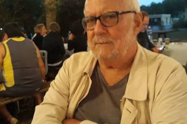 Jacques Quéralt, l'homme de lettres. Photo prise l'été dernier par son fils
