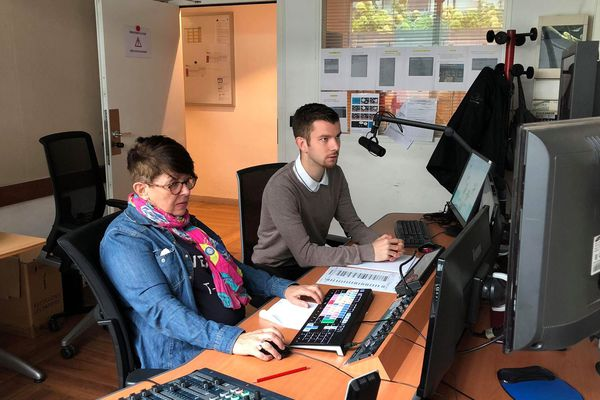 Depuis juillet dernier, Maxime est journaliste stagiaire à TLS à France Télévision. Il y a deux ans, il était agent immobilier dans l'Oise.