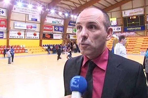 Hervé Coudray, le coach de l'USO Mondeville