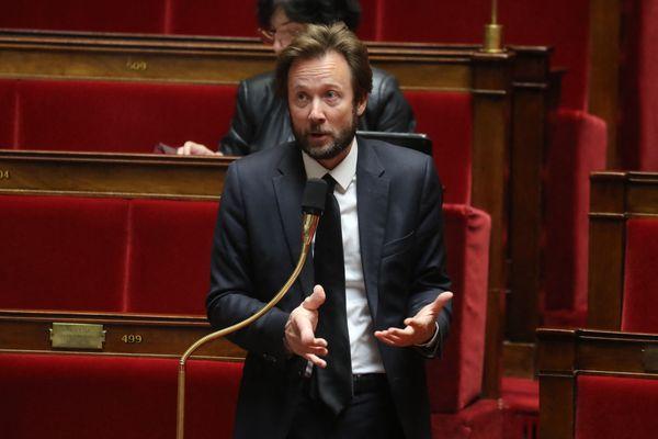 Le député socialiste Boris Vallaud le 21 mars 2021 à l'Assemblée nationale.