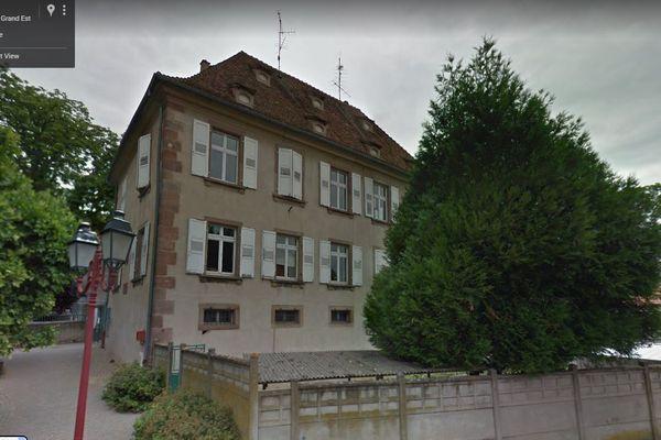 L'un des bâtiments du groupe scolaire René Cassin de Kogenheim
