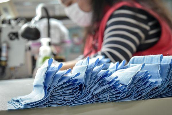 Fabrication de masques en tissu