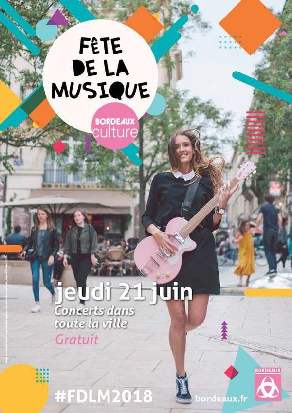 Fête de la Musique 2018 à Bordeaux