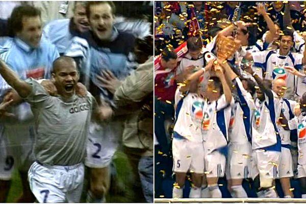 Le Racing a triomphé en Coupe de la Ligue en 1997 et 2005.
