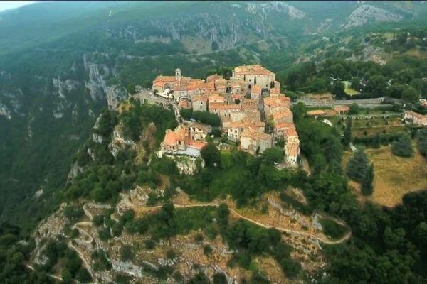 """En 2014, le village perché de Gourdon avait été sélectionné au concours du """"Village préféré des Français""""."""