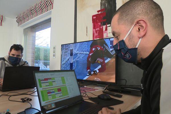 Pour l'entraîneur du Limoges Handball Tarik Hayatoune, le plus gros du travail se situe en amont