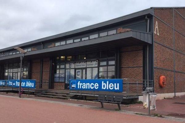 La station de France Bleu, à Rouen