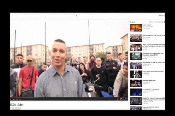 Le clip d'Abdelos sur YouTube
