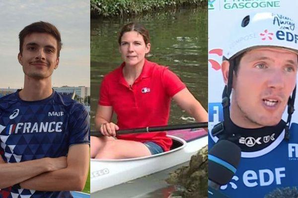 Hugo Hay, Claire Bren et Martin Thomas vont tenter de se qualifier pour leurs premiers Jeux Olympiques.