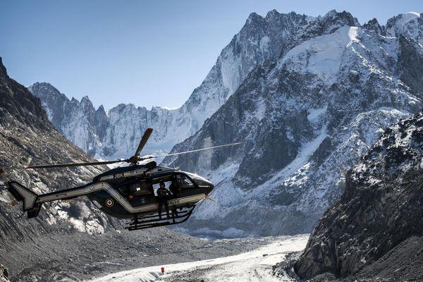 Les militaires du PGHM de Chamonix  Photo d'illustration.