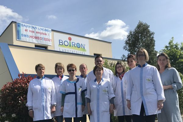 Les salariés de Boiron, à Reims, craignent pour les 32 emplois du site