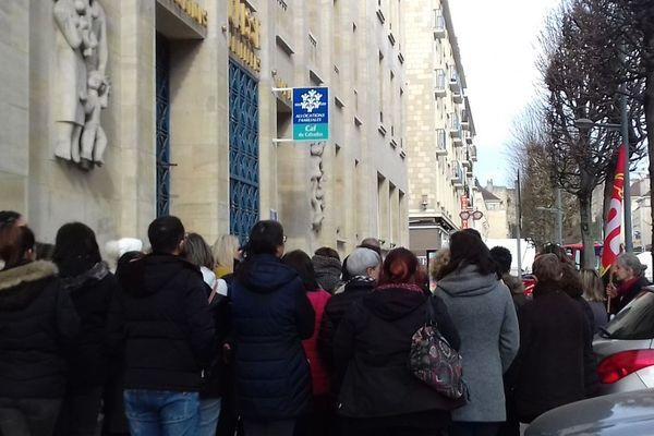 Grève à la CAF du Calvados, ce mardi 12 mars à Caen