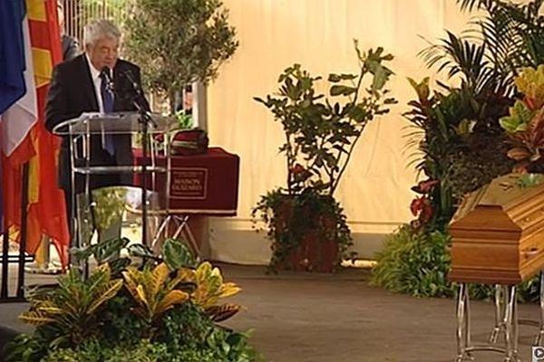 Millas : Jean-Claude Gayssot rend hommage à Christian Bourquin - 29 août 2014.