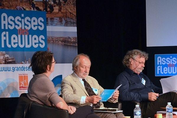 Jérôme Clément, commissaire général de Normandie Impressionniste aux Assises des fleuves le 9 octobre 2012