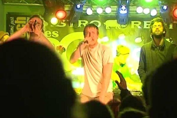 """le groupe de rap berruyer """"Scoop and J.Keuz"""" au OFF festival du Printemps de Bourges"""