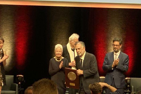 Lyon : Francis Ford Coppola a reçu le Prix Lumière - 18/10/19