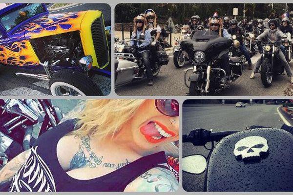 REVUE DU WEB : les images de l'Eurofestival des bikers Harley-Davidson