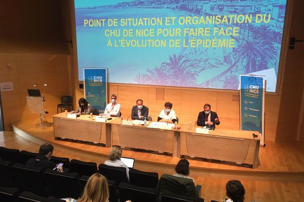 Conférence du CHU de Nice ce mardi 10 novembre.