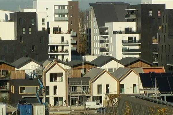 Quartier Ginko à Bordeaux, le premier grand chantier lancé par Alain Juppé au nord de la ville.