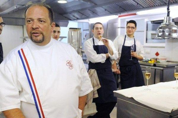 Gilles Goujon le chef de Fontjoncouse dans l'Aude - archives