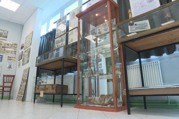 Lees bénévoles passionnés par la ville d'Ault ont aménagé le musée en seulement deux mois.
