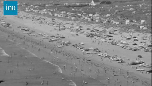3000 voitures garées sur la plage...