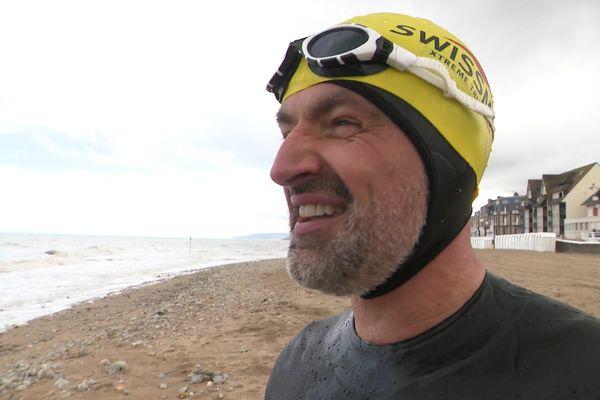 Olivier Lidec est un triathlète de l'extrême