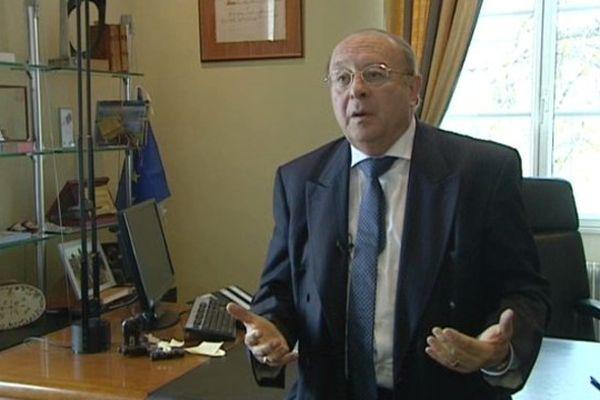 Gérard Gouze, maire de Marmande depuis 1983.