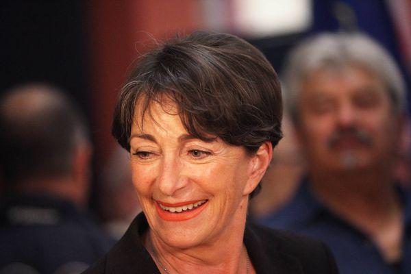 Josette Pons lors des élections municipales de 2014 à Brignoles