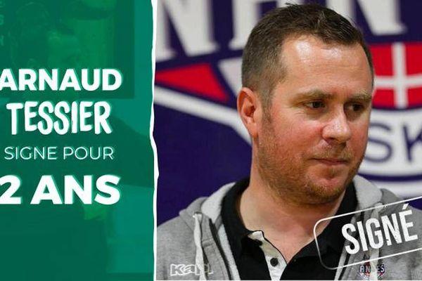 Arnaud Tessier, nouveau coach du Centre de Formation du Limoges CSP