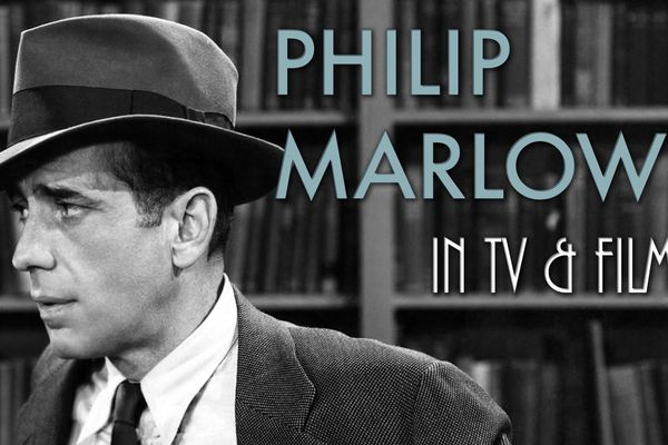Humphrey Bogart alias Philip Marlowe dans l'une des adaptations des romans de Chandler