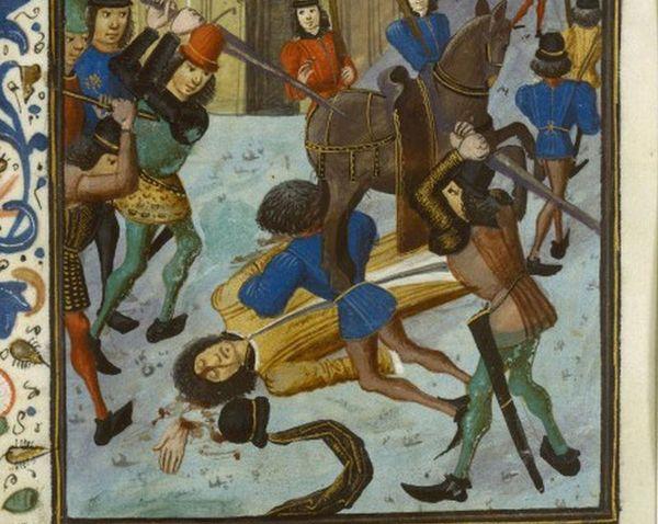 L'assassinat de Louis d'Orléans.