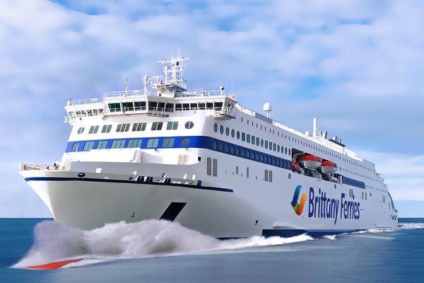 A cause de la crise sanitaire, la clientèle britannique a déserté les voyages à bord des bateaux de la Britanny Ferries