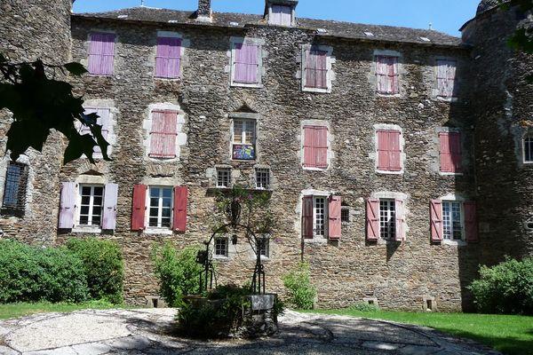 Le château de Bosc, à Camjac (Aveyron), où le peintre Toulouse-Lautrec a grandi.
