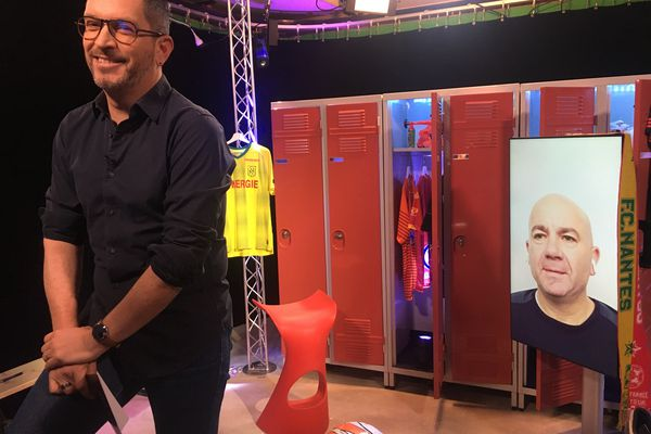 """Laurent Marsac, l'entraîneur des amateurs de l'ES Vigneux est l'invité d""""#USBFOOT et d'Anthony Brulez"""