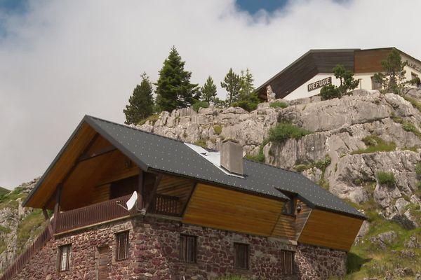 Le refuge Jeandel situé sur les hauteurs de La-Pierre-St-Martin dans les Pyrénées-Atlantiques doit respecter, comme tous les autres, de contraignantes mesures sanitaires