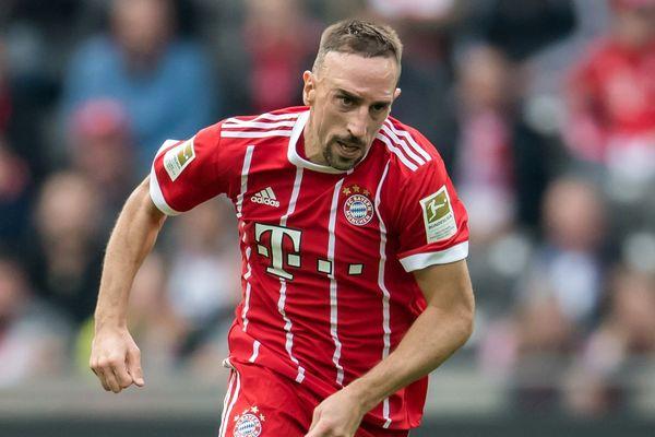 Franck Ribery s'est blessé lors du match du Bayern contre le Hertha Berlin, le 1er octobre dernier.