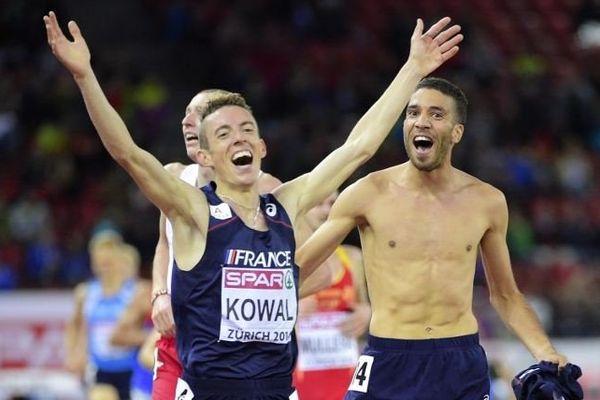 Yoann Kowal termine deuxième du 3000m steeple aux championnats d'Europe d'athlétisme 2014