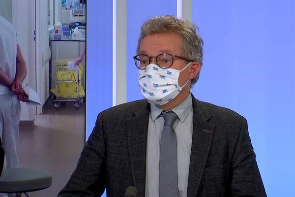 Olivier Claris, Président de la CME des Hospices Civils de Lyon - 12/1/21
