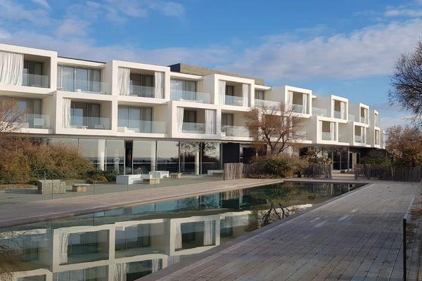 Le nouvel hôtel cinq étoiles sur la plage entre Carnon et Palavas-les-Flots - janvier 2018