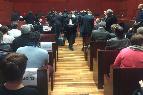 A Nantes le procès des deux amants a débuté dans le cadre de l'affaire Barbot