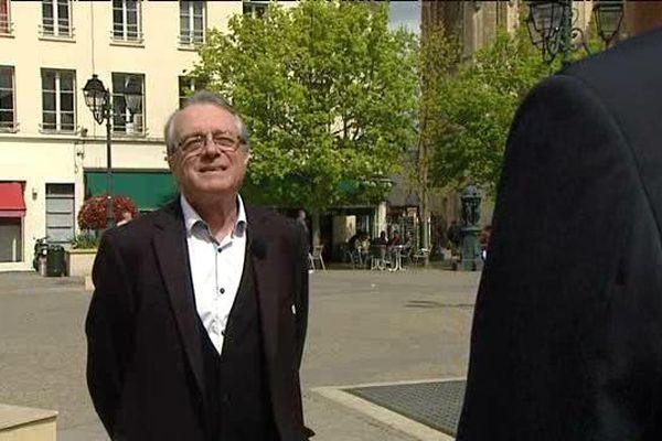 Louis Morée, Président du comité de jumelage, de la ville de Dreux.